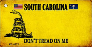 South Carolina Don't Tread On Me Wholesale Novelty Key Chain