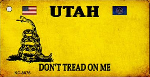 Utah Don't Tread On Me Wholesale Novelty Key Chain