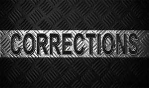 Corrections Wholesale Novelty Metal Magnet