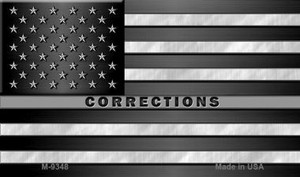 American Flag Corrections Wholesale Novelty Metal Magnet