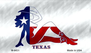 Texas Girl Wholesale Novelty Metal Magnet