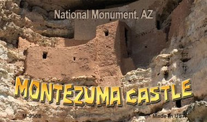Montezuma Castle Wholesale Novelty Metal Magnet M-9508