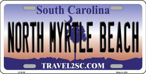 North Myrtle Beach Flag Wholesale Metal Novelty License Plate