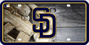 San Diego Padres Wholesale Metal Novelty License Plate LP-5609