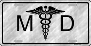 MD Wholesale Metal Novelty License Plate