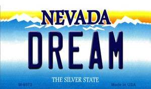 Dream Nevada Background Wholesale Novelty Metal Magnet