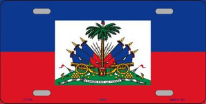 Haiti Flag Wholesale Metal Novelty License Plate