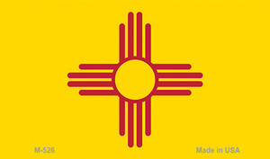 New Mexico State Flag Wholesale Novelty Metal Magnet M-526
