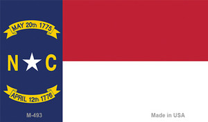 North Carolina State Flag Wholesale Novelty Metal Magnet M-493