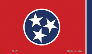 Tennessee State Flag Wholesale Novelty Metal Magnet M-511