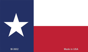 Texas State Flag Wholesale Novelty Metal Magnet M-3602