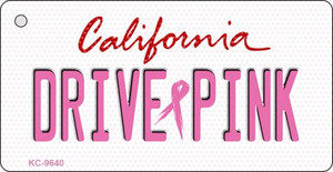 Drive Pink California Wholesale Novelty Key Chain