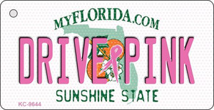 Drive Pink Florida Wholesale Novelty Key Chain
