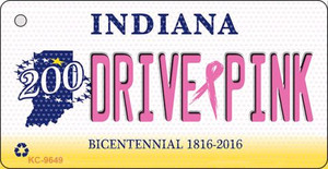 Drive Pink Indiana Wholesale Novelty Key Chain