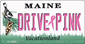Drive Pink Maine Wholesale Novelty Key Chain