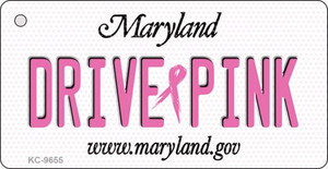 Drive Pink Maryland Wholesale Novelty Key Chain