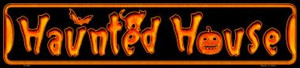 Haunted House Wholesale Novelty Metal Small Street Signs