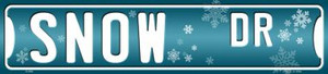 Snow Dr Wholesale Novelty Metal Small Street Signs