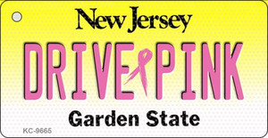 Drive Pink New Jersey Wholesale Novelty Key Chain