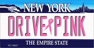 Drive Pink New York Wholesale Novelty Key Chain