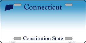 Connecticut State Blank Novelty Wholesale Metal License Plate