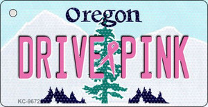 Drive Pink Oregon Wholesale Novelty Key Chain