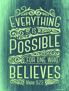 Everything Is Possible Wholesale Metal Novelty Parking Sign