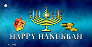 Happy Hanukkah Wholesale Novelty Key Chain