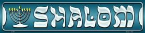Shalom Wholesale Novelty Metal Small Street Signs