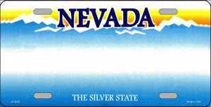 Nevada Novelty State Background Blank Wholesale Metal License Plate