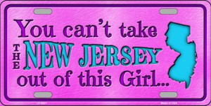 New Jersey Girl Novelty Wholesale Metal License Plate