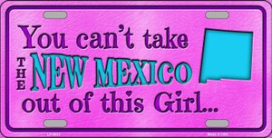 New Mexico Girl Novelty Wholesale Metal License Plate