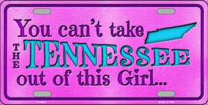 Tennessee Girl Novelty Wholesale Metal License Plate