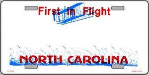 North Carolina Novelty State Background Blank Wholesale Metal License Plate LP-2248