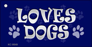 Loves Dogs Wholesale Novelty Key Chain