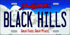 Black Hills South Dakota Background Wholesale Metal Novelty License Plate