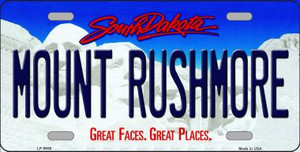 Mount Rushmore South Dakota Background Wholesale Metal Novelty License