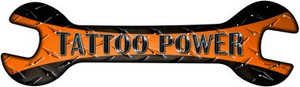 Tattoo Power Wholesale Novelty Metal Wrench Sign