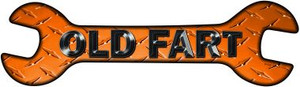 Old Fart Wholesale Novelty Metal Wrench Sign