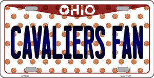 Cavaliers Fan Ohio Background Novelty Wholesale Metal License Plate