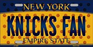 Knicks Fan New York Novelty Wholesale Metal License Plate