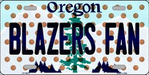 Blazers Fan Oregon Novelty Wholesale Metal License Plate