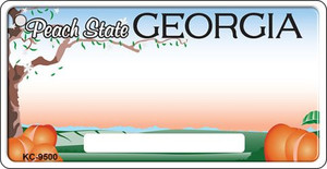 Georgia Background Wholesale Novelty Key Chain