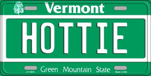 Hottie Vermont Background Wholesale Metal Novelty License Plate