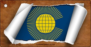 Commonwealth Flag Scroll Wholesale Novelty Key Chain