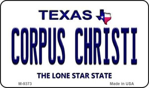 Corpus Christi Texas Background Wholesale Novelty Metal Magnet