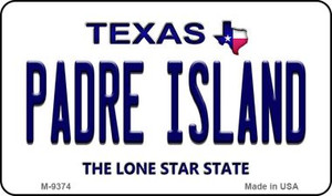 Padre Island Texas Wholesale Novelty Metal Magnet