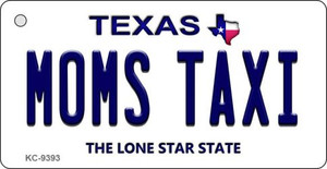 Mom's Taxi Texas Background Wholesale Novelty Key Chain