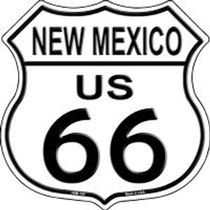 Route 66 New Mexico Highway Shield Wholesale Novelty Metal Magnet HSM-106