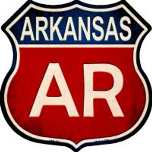 Arkansas Highway Shield Wholesale Novelty Metal Magnet